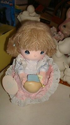 """Precious Moments """"Whistle While You Work"""" Musical Collection Dolls Ronnie"""