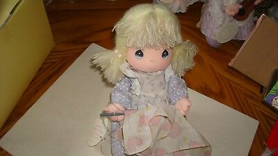"""Precious Moments """"Love Makes the World Go Round"""" Musical Collection Doll Joni"""