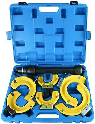 MacPherson Strut Spring Compressor Interchangeable Fork Coil Extractor Set