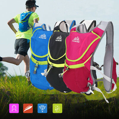 AONIJIE 8L Running Backpack Vest Pack Bag For 1.5L Water Bag Cycling Hiking SD