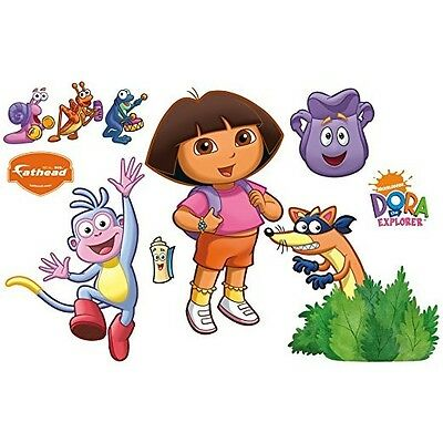 Dora the Explorer Backpack and Boots Wall Decal  Poster- FATHEAD