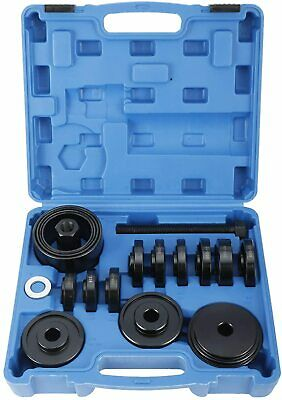 21pc FWD Front Wheel Tool Kit Drive Bearing Removal Adapter New Puller Pulley