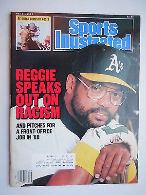 May 11, 1987 Sports Illustrated REGGIE JACKSON Oakland A's  NM