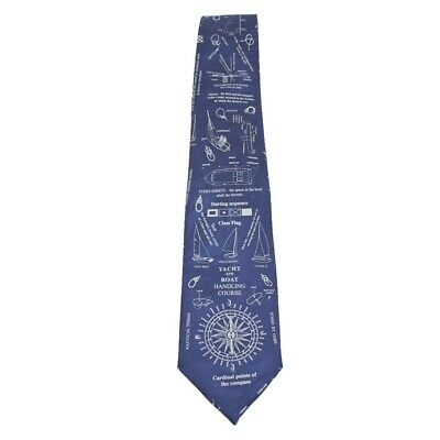 Boat Handling Course Sleeved 100% Polyester Classic Tie