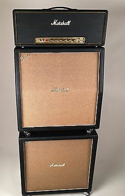 1968/1969 Marshall Super Bass Stack with Pre Rola Speakers and Lay Down Tranny