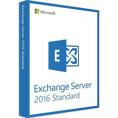 Microsoft Exchange Server 2016 Standard - Vollversion - Download