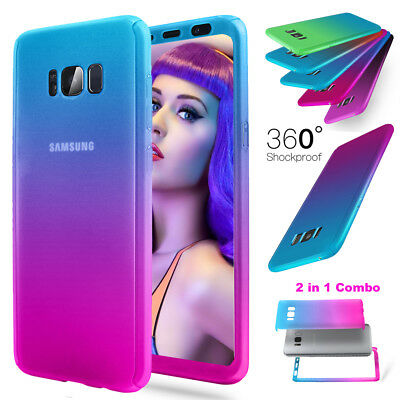 360 Full Shockproof Ultra Thin Hard Armor Case Cover For Samsung Galaxy S8/ Plus