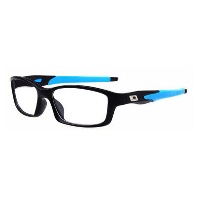 LE Ultralight Rectangle TR90 Frame Sport Glasses Optical RX Eyeglass Without Len