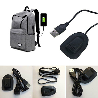 USB Male to Female Data Cable Charging Extension Cable For Backpack Luggage 65Cm