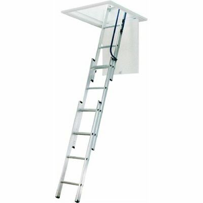 Aluminum Pull Down Stairs Attic Ladder Ceiling Door Storage Limit 250 lbs