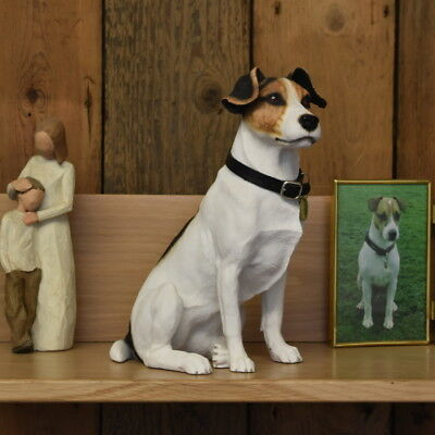 Jack Russell  Dog  Urn pet memorial casket will hold the ashes of your dog