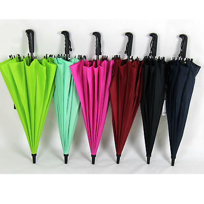 Colourful New Windproof Strong Straight Automatic Compact High Quality Umbrella