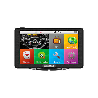 "Exclusive 2019 7""Truck Sat + 16gb SD Card Snapp Acc HGV Parking Key+UK Fuels"