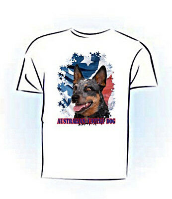 Australian Cattle Dog  PERSONALIZED Stars & Stripes T shirt