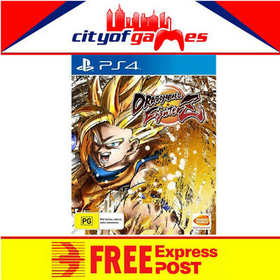 Dragon Ball FighterZ PS4 Game New & Sealed Free Express Post In Stock
