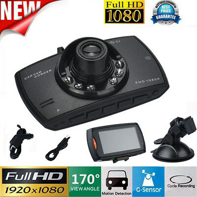 "2.4"" 1080P Full HD Car DVR Vehicle Camera Dash Cam Video G-sensor Night Vision"