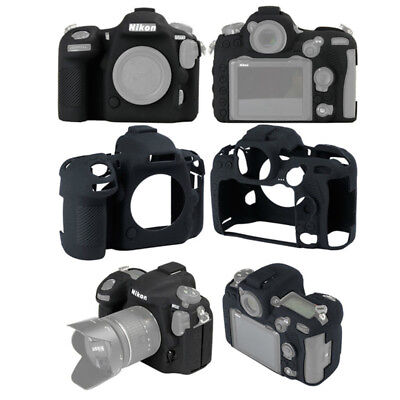 Rubber Silicon Case Body Cover Protector Soft Frame Skin for Nikon D500 Camera