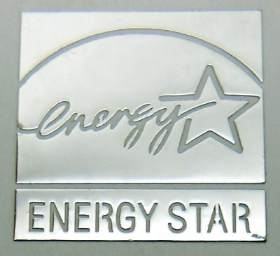 Energy Star Sticker Silver Decal Case Genuine Heating & Air Conditioning
