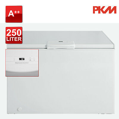 Gefriertruhe A++ PKM GT 250A++N Fast Freeze Funktion 250L