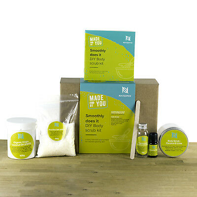 Naissance 'Smoothly Does It' Make Your Own Body Scrub Luxury DIY Gift Set