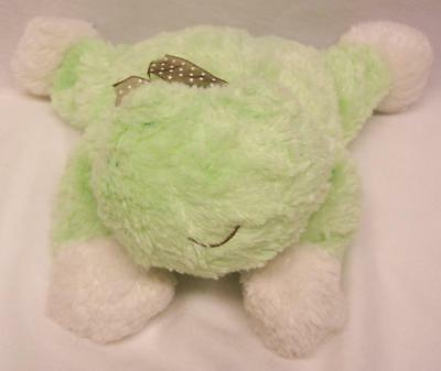 """Carter's CUTE SOFT GREEN FROG 9"""" BABY Plush STUFFED ANIMAL Toy"""