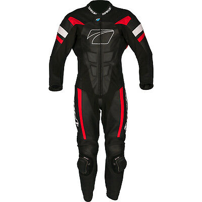 Spada Curve EVO 1-Piece Leather Motorcycle Suit Bike CE Armour Vented Race