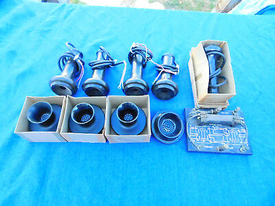 Vintage Telephone Parts and More, Lot Of 10