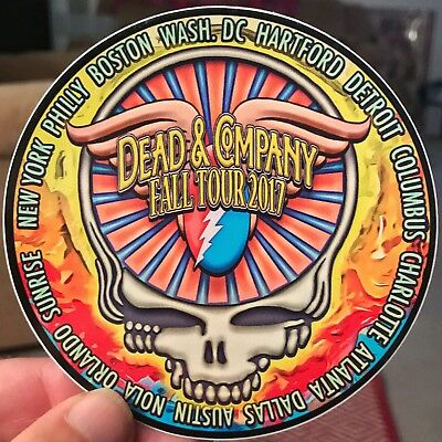 Grateful Dead And Company Inspired Fall Tour 2017 Souvenir Sticker