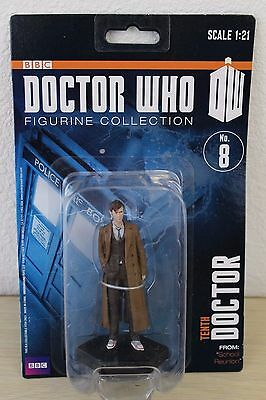 BBC Doctor Who Figurine Collection 8 Tenth 10th Eaglemoss Figure School Reunion