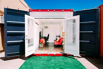 20Ft - Custom Shipping Container/bunk Sleeping/temp. Home /office/cabin/studio