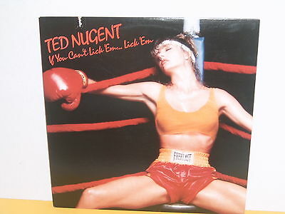 Lp - Ted Nugent - If You Can't Lick Em Lick Em