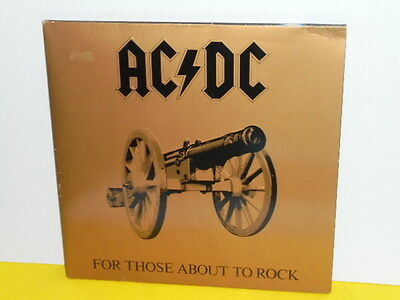 Lp - Ac / Dc - For Those About To Rock - Austro Mechana