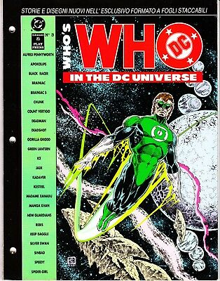 WHO'S WHO IN THE DC UNIVERSE n. 3   PLAY PRESS