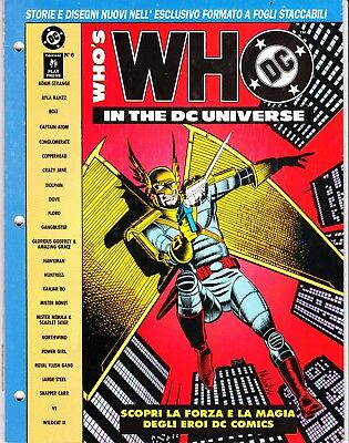 WHO'S WHO IN THE DC UNIVERSE n. 6   PLAY PRESS
