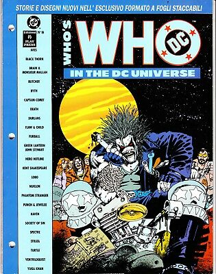 WHO'S WHO IN THE DC UNIVERSE n. 8   PLAY PRESS