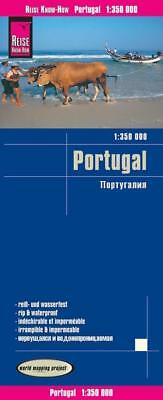 Reise Know-How Landkarte Portugal 1 : 350 000, (Land-)Karte, Deutsch, 2017