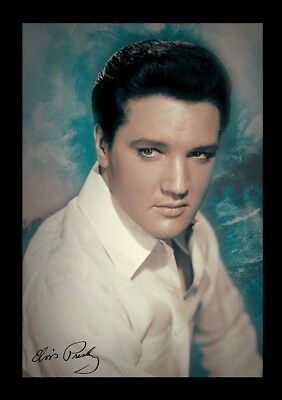 ELVIS PRESLEY CLASSIC COOL 13x19 FRAMED GELCOAT POSTER MUSIC LEGEND ICON ROCK!!!
