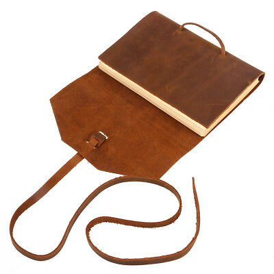 Classic Leather Notebook Antique Diary Journal Handmade Binding Rope