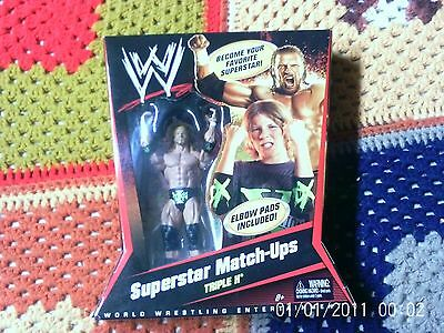 Wwe Superstar Match-Ups Triple H Rare