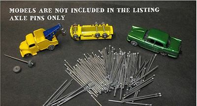 100 Axles Matchbox Lesney for Restorations or Code 3 a good alternative AXLE