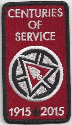 OA Order of the Arrow 2015 Arrowman Service Award Centuries of Service (var. 1)