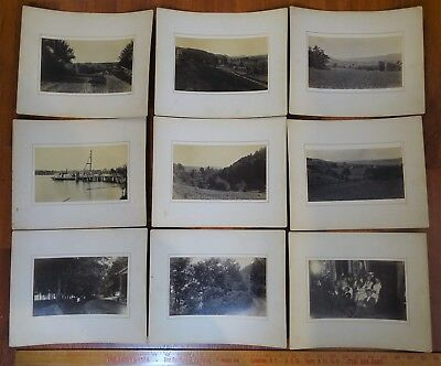 SUPER Photo Archive - Landscapes 1888 Cherry Valley Springfield Otsego County NY