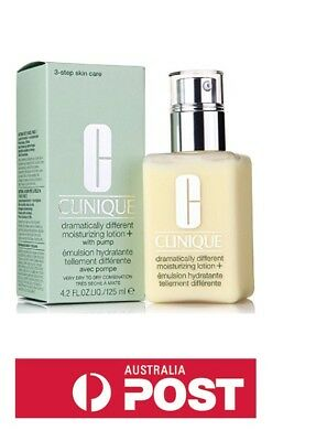 Clinique Dramatically Different Moisturizing Lotion+ 125ml Skincare*Damaged Box*