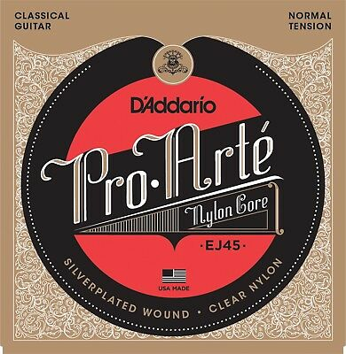 D'Addario EJ-45 Pro-Arté Normal Tension Classical Guitar Strings