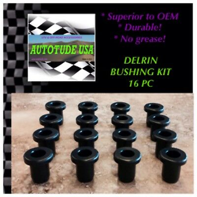 SUPERIOR TO OEM! 2009 Polaris Ranger 4X4 500 EFI Suspension DELRIN Bushings Set