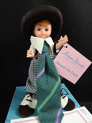 "Madame Alexander Doll Dressed Like Daddy 8"" #17002"
