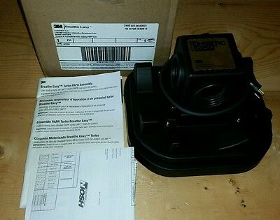New 3M 520-15-00 022-00-03R01 PAPR Breathe Easy Turbo Assembly Respirator