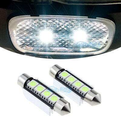 LED Bulb Bright White For Kenworth T660 T600 T2000 Interior Dome Lights (2 Pack)