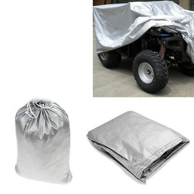 L Size Universal ATV Quad Bike Protect Cover Waterproof Dustproof Anti-UV