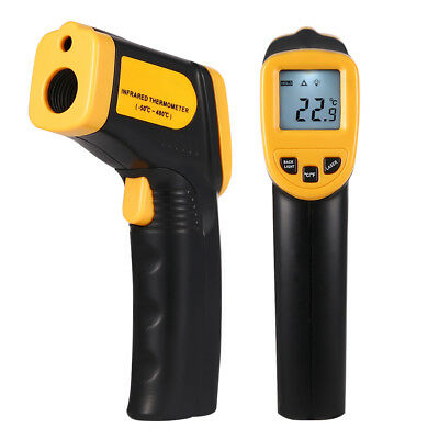 Infrared Digital Temperature Thermometer -50 to 480°C Handheld Non-Contact US